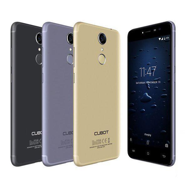 """Смартфон Cubot Note Plus 3/32Gb, 13/13Мп, 2 SIM, 5.2"""" IPS, 4 ядра, 2800 мАч, 4G, Android 7.0"""