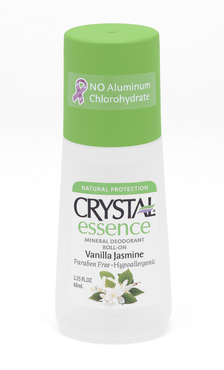 Crystal Essence Deodorant Vanila & Jasmine Roll-on - Дезодорант роликовый (ваниль и жасмин), 66 мл