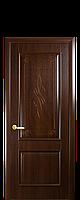 """Межкомнатные двери """"Вилла"""" глухое полотно с гравировкой, фото 1"""