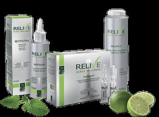 Программа устранения патологий кожи головы и волос - Relive Scalp Wellness