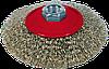 Щітка для КШМ, 100 мм, М14, конусна рифлена