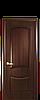 """Межкомнатные двери """"Донна"""" глухое полотно с гравировкой"""