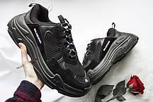 Мужские кроссовки Balenciaga Tripe-S Black, фото 2