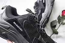 Мужские кроссовки Balenciaga Tripe-S Black, фото 3