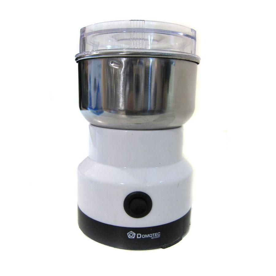 🔝 Электрическая кофемолка, импульсная, Domotec MS 1106, для кофе и специй   🎁%🚚