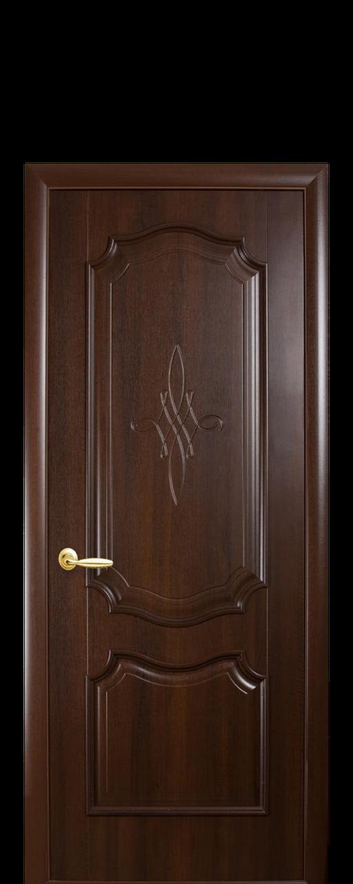 """Межкомнатные двери """"Рока"""" глухое с гравировкой"""
