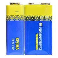 Батарейка солевая Крона.6F22.S1 (shrink 1) АСКО-УКРЕМ
