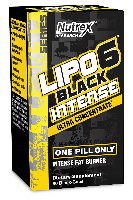 Nutrex Lipo 6 Black Intense Ultra Concentrate 60 caps