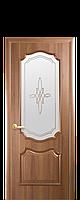 """Межкомнатные двери """"Рока"""" со стеклом сатин и рисунком, фото 1"""