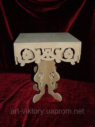 Подставка для капкейков (21 х 21 х 25 см), декор, фото 2