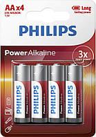 Батарейка PHILIPS LR6P4B/10 POWER Alkaline AA BLI 4