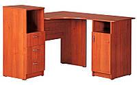 Угловой письменный стол Индиго для дома, кабинета и офиса. Стол для школьника