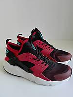Женские кроссовки Nike Huarache красные 41размера
