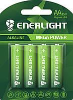Батарейка ENERLIGHT MEGA POWER AA BLI 4