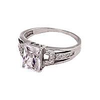 Р1312 Перстень женский серебряный