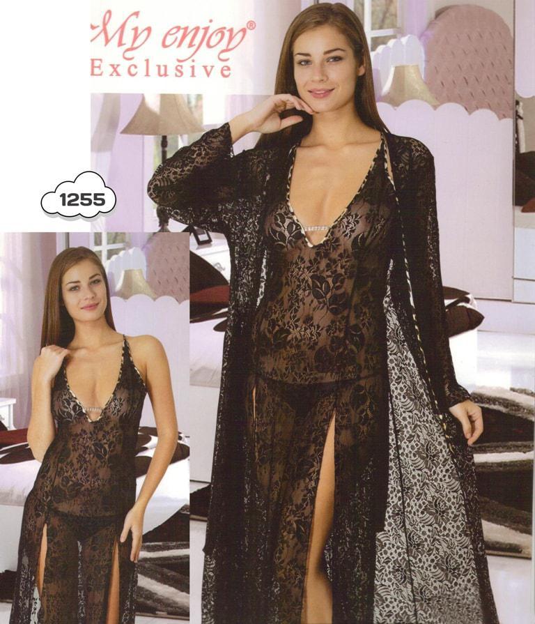 Сексуальный халат с ночнушкой Турция