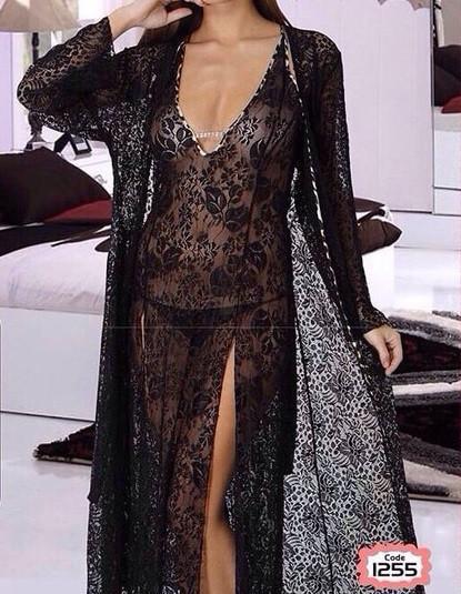 купить Сексуальный халат с ночнушкой Турция в интернет магазине