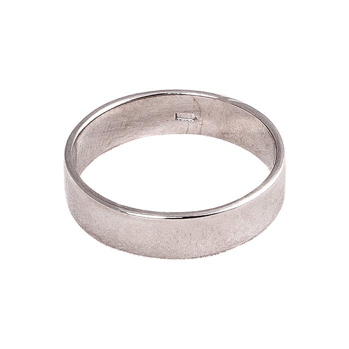 Р1222 Обручальное кольцо из серебра «Американка» 928a7e835286e