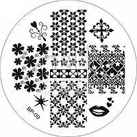 Пластина (диск) для стемпинга, BP-09