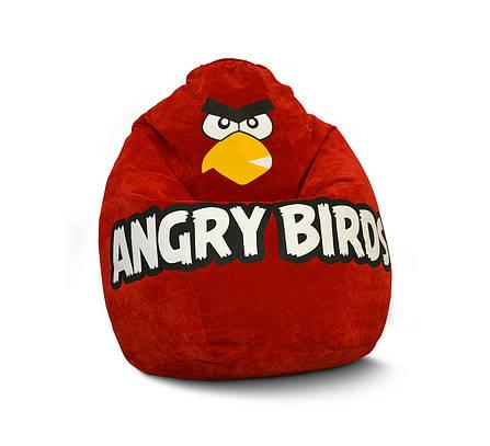 Детское кресло мешок Angry Birds Флок, фото 2