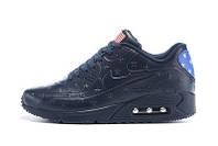 Мужские кроссовки Nike Air Max 90' VT Tweed Amerika dark blue(Эир макс 90 ВТ Твид)
