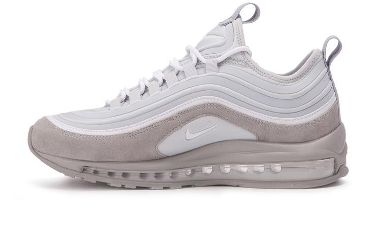 e717f82b Мужские кроссовки Nike Air Max 97 Ultra SE Grey/White (Реплика ААА ...