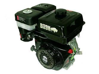Двигатель бензиновый BIZON 177F шлицевой выход Ф25