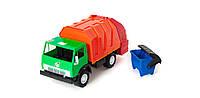 Мусорозборочная детская машина с контейнером