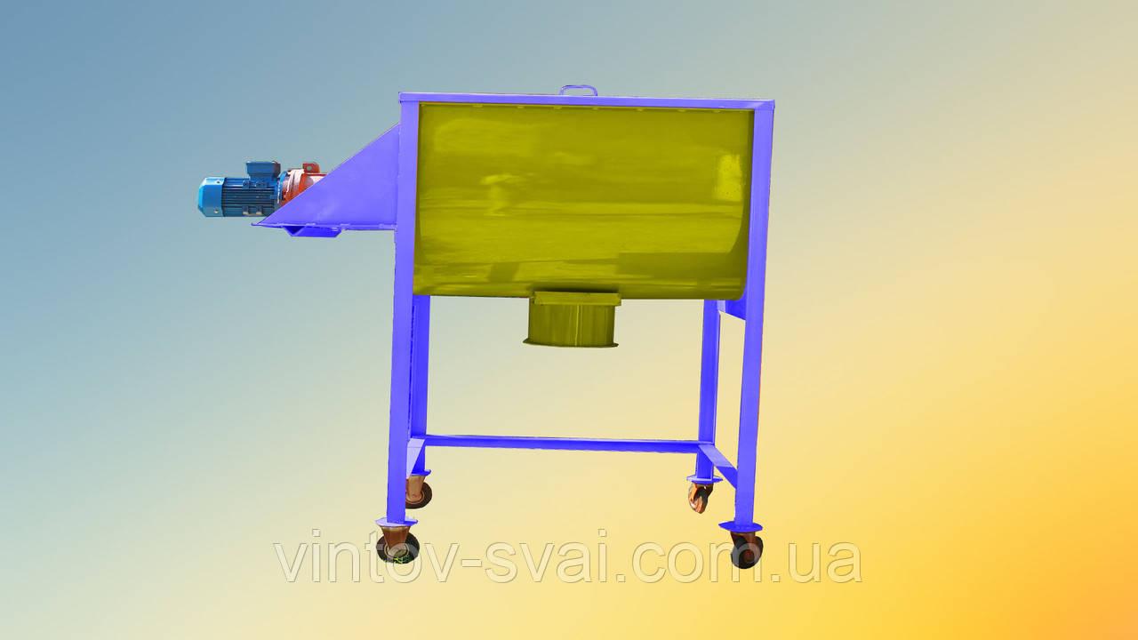 Смеситель для пищевой промышленности 400 л., 3Квт на 220В.