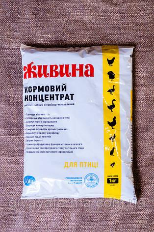 Живина для птицы, 1 кг, аминокислотный витаминно-минеральный кормовой концентрат, фото 2