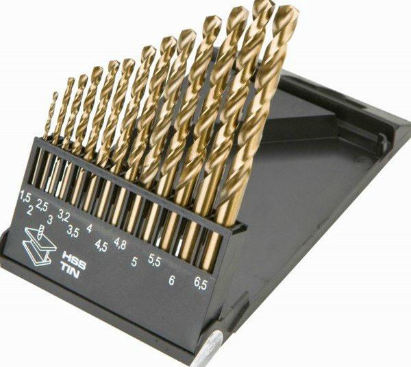 Набор сверл по нержавеющей стали 1-13мм (25 шт.) Triton-tools Р6М5