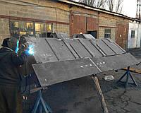 Сварочные работы на фронтальных ковшах, ремонт ковша экскаватора, восстановление ковша для спецтехники