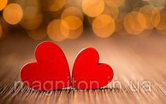С Днём Святого Валентина. Магнит на холодильник 02