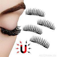 Магнитные накладные многоразовые ресницы Newshow 3D Mink Hair Lashes