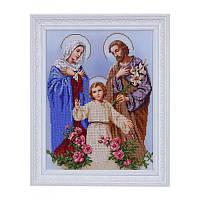 Т-0531 Святое семейство. ВДВ. Схема на ткани для вышивания бисером