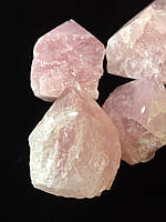 Розовый кварц обелиск Полуобработанное сырьё