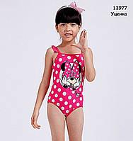 Купальник Minnie Mouse для девочки. 1-2 года, фото 1