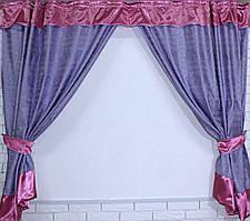 Комплект плотных штор е349, 1.6м*2.75м