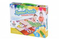 Детские пазлы-раскраска same toy 2170ut Новогодняя ёлочка