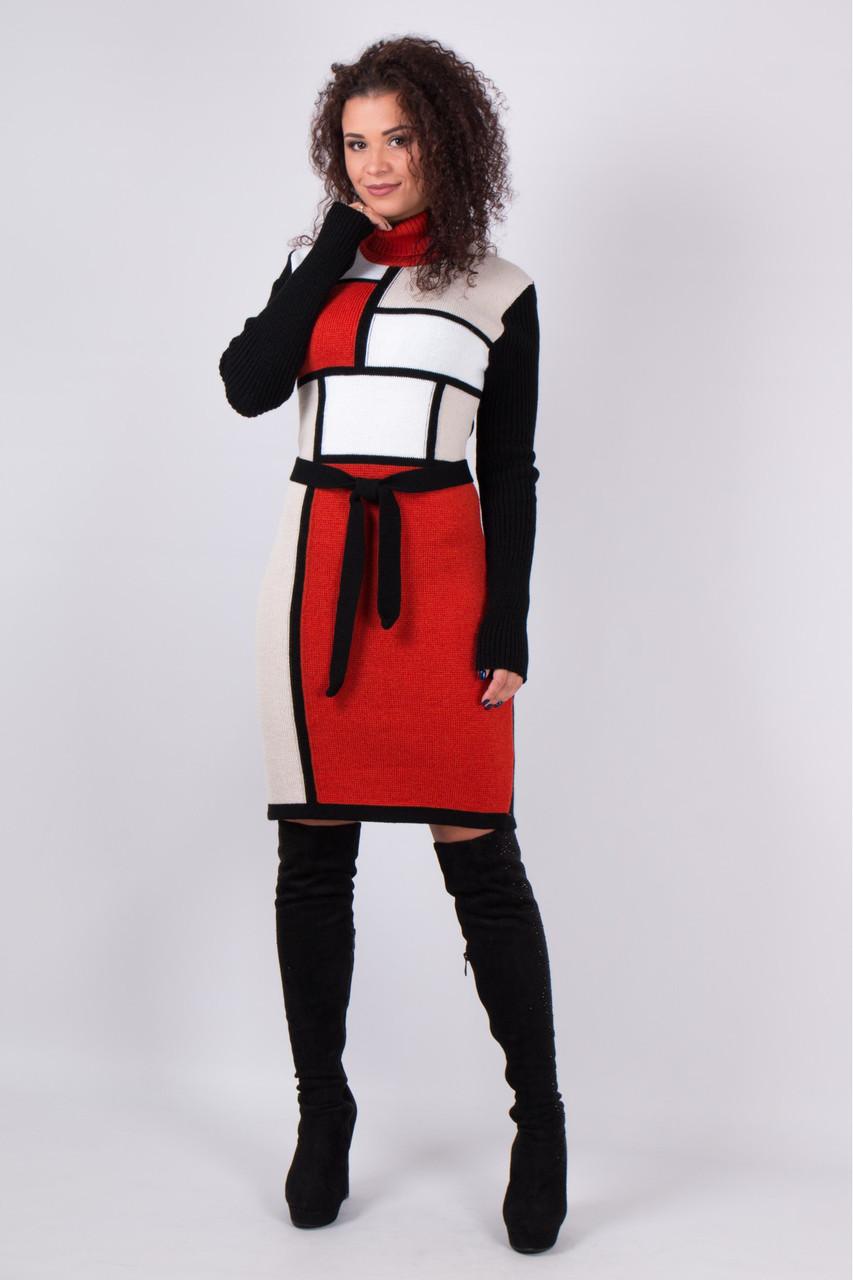 Платье вязка - Кубик