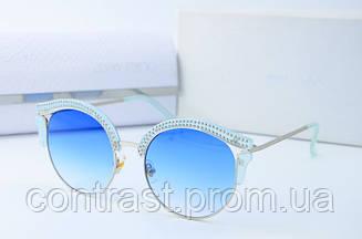 Солнцезащитные очки Jimmy Choo 1106 голубые
