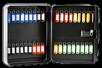 Металлический бокс для ключей с брелками buromax bm.0411 на 36 ключей