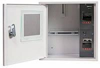 Шафа e.mbox.stand.n.f1.04.z.e металевий під 1-ф. електронний лічильник 4 мод. навісний з замком