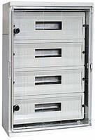 Шкаф ударопрочный из АБС-пластика e.plbox.210.280.130.8m.tr 210х280х130мм IP65 с прозрачной дверцей и панелью