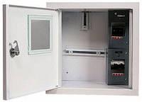 Шафа розподільний e.mbox.stand.w.f1.04.z.e під однофазний електронний лічильник+ 4 мод.страиваемый з замком