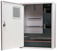 Шкаф распределительный e.mbox.stand.n.f3.24.z.е под трехфазный электронный счетчик+ 24 мод., навесной, Украина