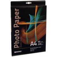 Глянцевая фотобумага двухсторонняя tecno premium photo paper cb a4 220g 50 p. doubl glossy (pgd 220 a4 cp)