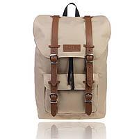 Рюкзак спортивный бежевый, фото 1