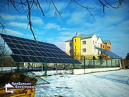 Сонячна електростанція 30 кВт м. Рогатин