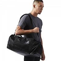 Черная сумка Рибок для занятий спортом CF7469 - 2018